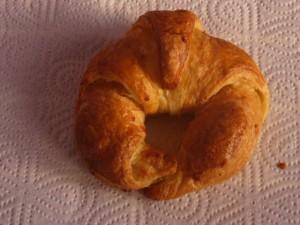 Jeder Tag beginnt mit einem frischen Croissant