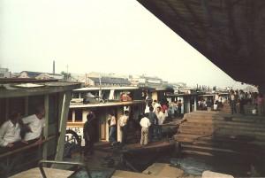 Schiffsstation am Kaiserkanal