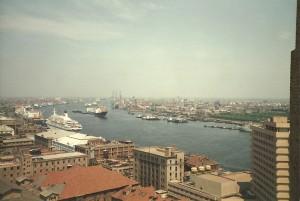 Blick vom Shanghai Hotel auf den Bund