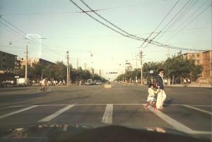 Changan Boulevard in Beijing