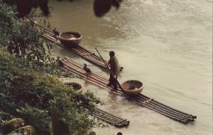 Die Fischer mit ihren Kormoranen