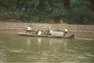 Fähre am Li River