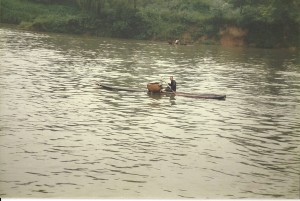 Fischer am Li River