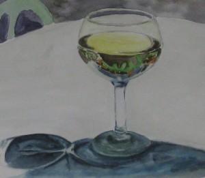 Ein Glas Weisswein...
