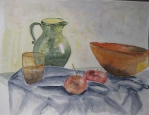 Stillleben nach Cezanne